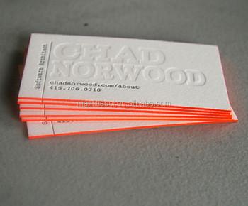 Nom Carte De Haute Qualit Visite Couleur Bord