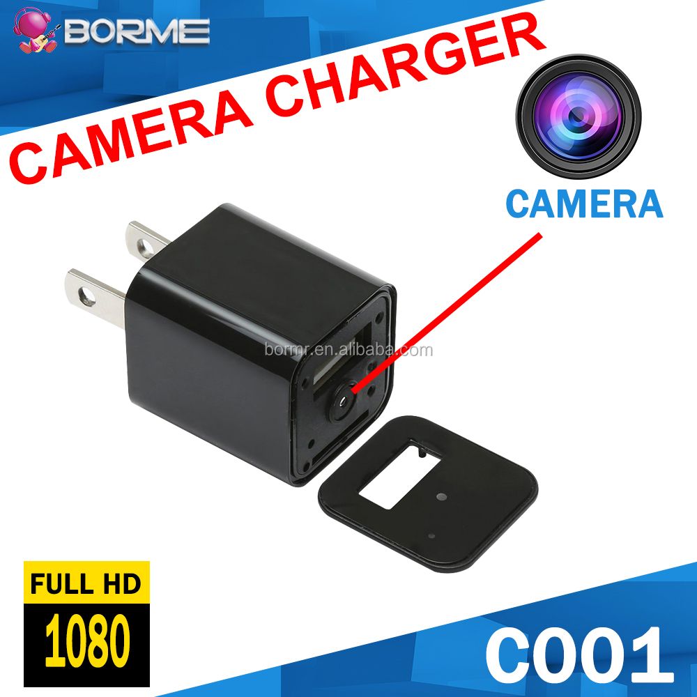 Full HD 1080P USB Charger Camera Portable Hidden Camera Charger for Home Security Camcorder
