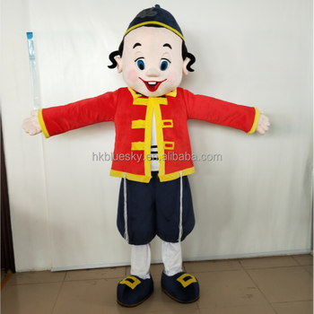 professional custom mascot costumes custom eva head israel girl