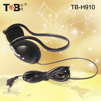Headphone with Mini Earmuffs Popular Girls and Boys auriculares with Soft Earmuffs Flexible Heaphones with Long Cable
