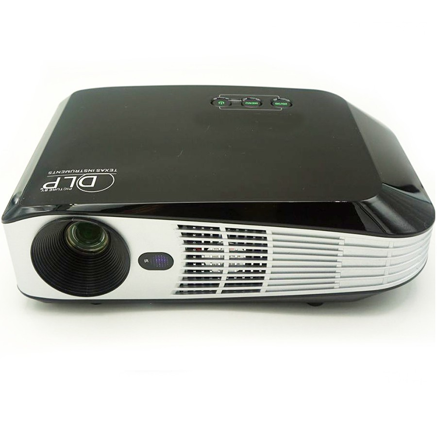 Mini 4 k projector draagbare mini wifi smart dlp-projector voor zakenreizen outdoor
