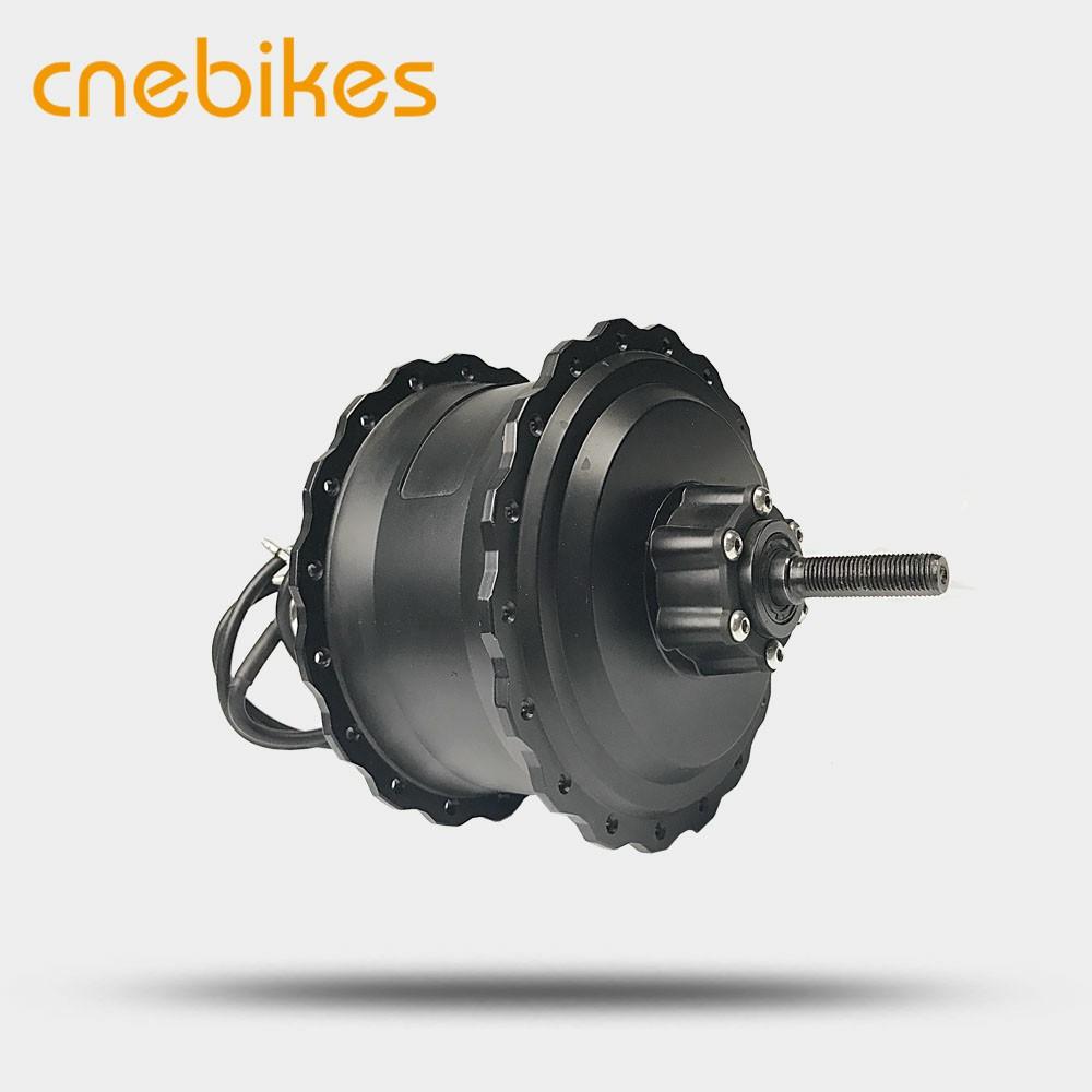 8Fun 48V 750W Bafang Brushless Geared DC Cassette Fat Tire Hub Motor Rear Wheel Dropout Width:190MM