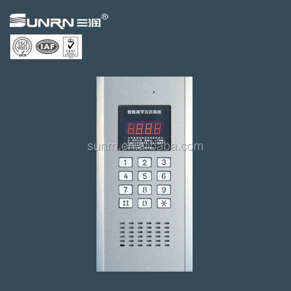 Wired Door Phone Home Audio Intercom System For Multi Apartments ...