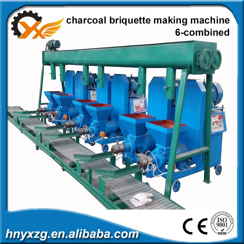 China Factory Supplies Persistance working fire wood briquette making machine