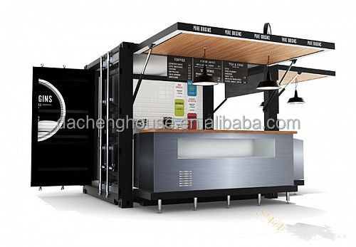 Modern Mobile Container House Coffee Bar 40ft Container