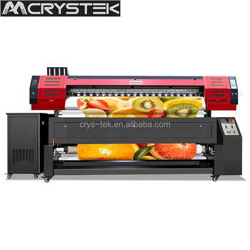 Clothes Digital Printing Machine With 2 Heads Textile Printer From Crystek  - Buy Clothes Digital Printing Machine,2 Heads Textile Printer,Digital