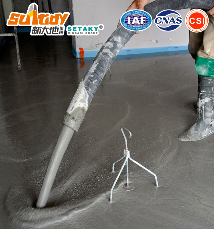 Cement Based Self Levelling Concrete Level Screed