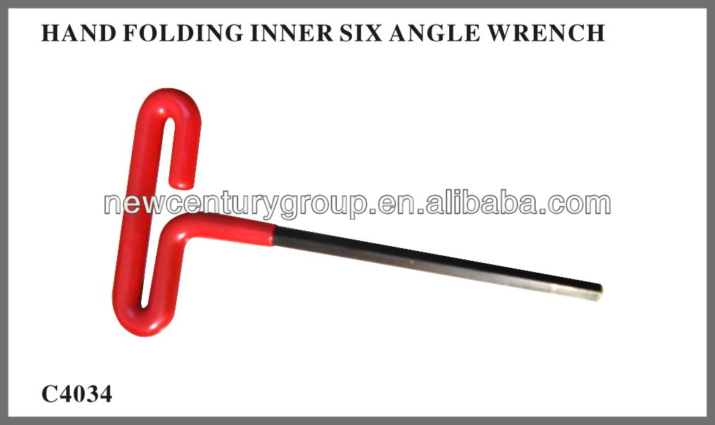 Color star hex key wrench