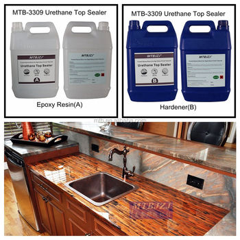 Ultra Clear Countertop Epoxy Coating Extremely Durable Table Top Finish