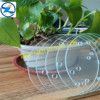 Factory Supplying small tempered glass size round plastic edge trim good price