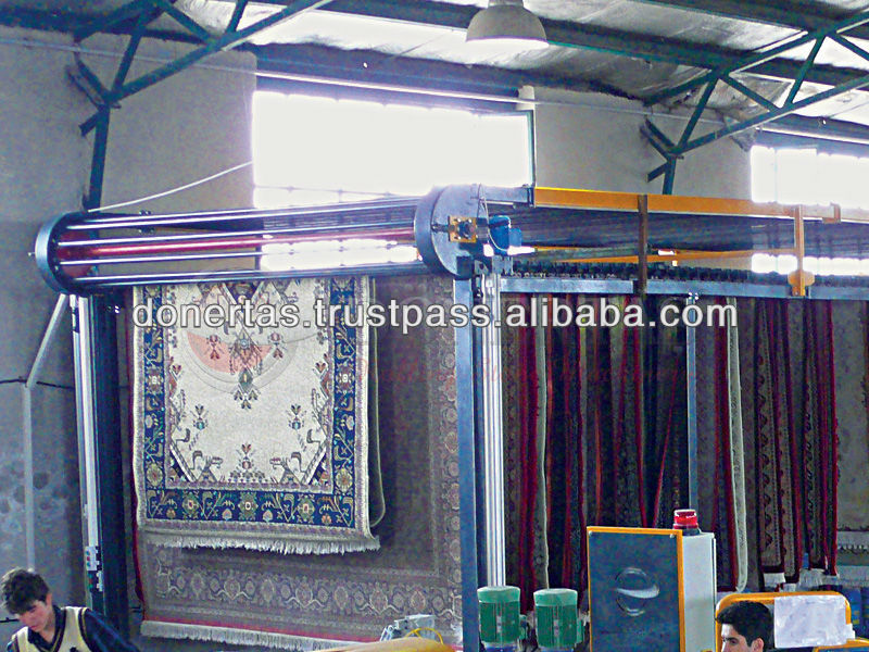 Carpet Hanging and Drying System