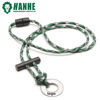 simple high quality 550 paracord fire starter the scraper necklace lanyard for decor and gift
