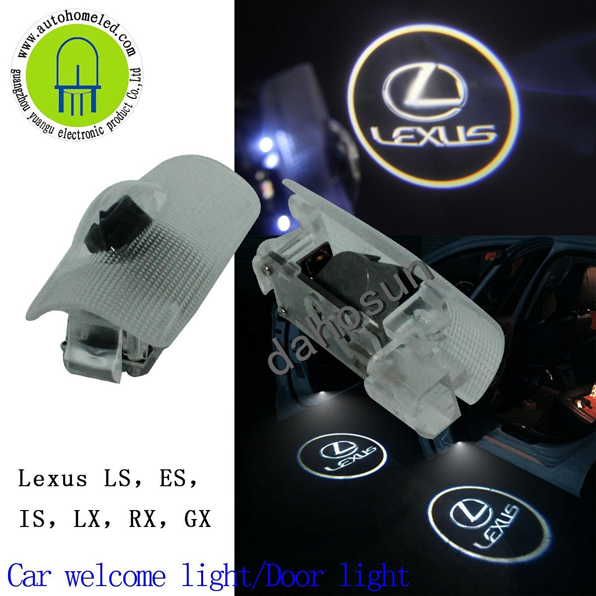 Cheap Lexus Rx Car Find Deals On Line At Alibabacom Trailer Hitch Wiring Harness For 350 Get Quotations 2pc X Led Logo Light Is Es Ls Lx