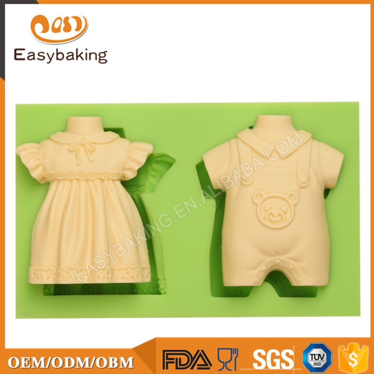 ES-1117 Boy and girl Baby dress Silicone Molds