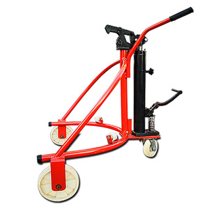 high quality capacity price 350kg oil drum trolley
