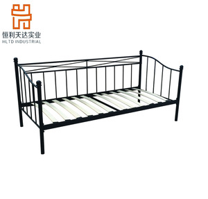 Chinese high quality simple metal single day bed