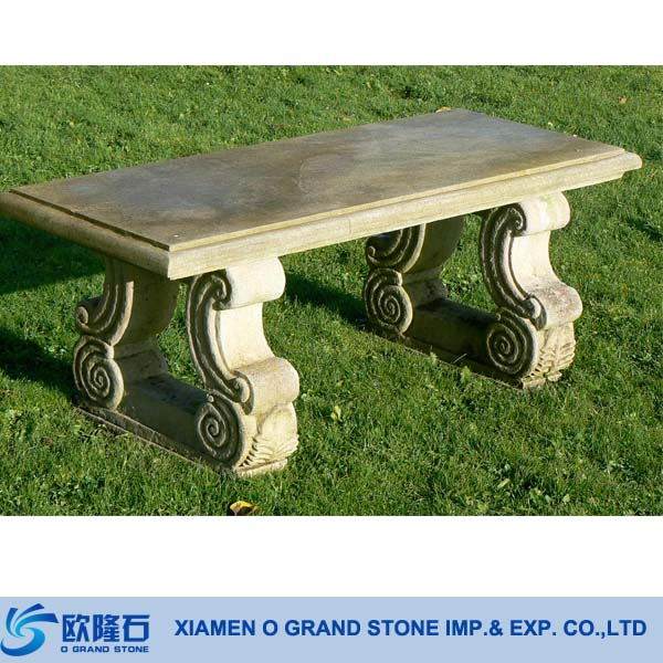 Natural Stone Park Benches, Natural Stone Park Benches Suppliers And  Manufacturers At Alibaba.com
