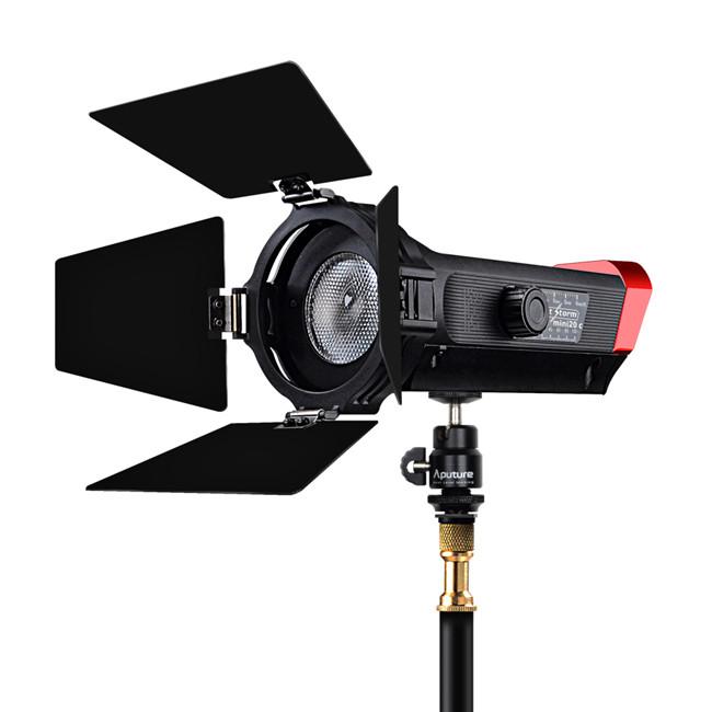 LS mini 20c COB light CRI 97+ Color Temperature 3200K-6500K fresnel led video light for photography