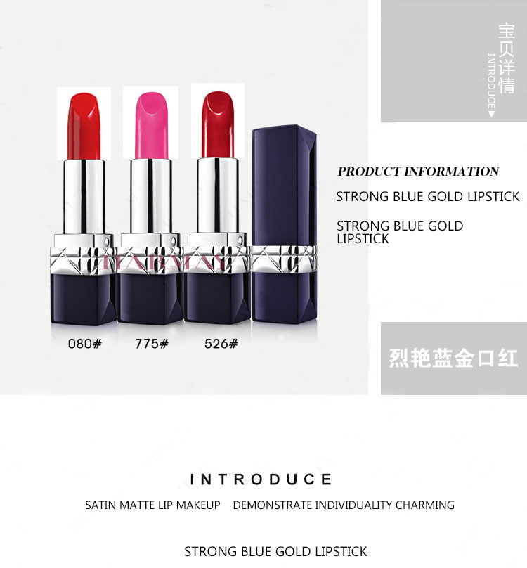 Guangzhou China Makeup Manufacturer Matte Lipstick Private