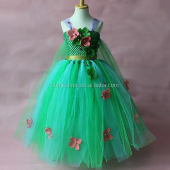 82c83ab9c2 2017 green color summer girl dress Aliexpress