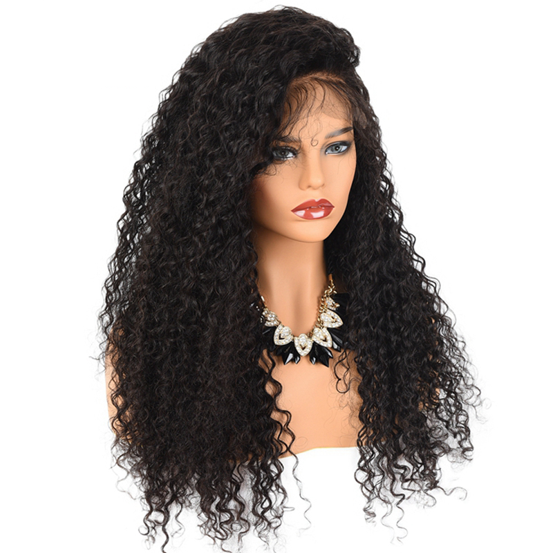 <strong>Cheap</strong> 150% density raw virgin cuticle aligned brazilian natural <strong>human</strong> <strong>hair</strong> <strong>lace</strong> <strong>front</strong> <strong>wigs</strong> glueless kinky curly full <strong>lace</strong> <strong>wig</strong>