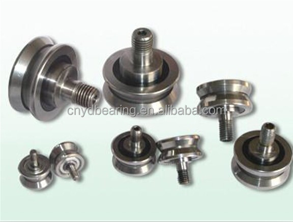 low price ZLV-40 v guide rail wheel bearing with 120 degree angle