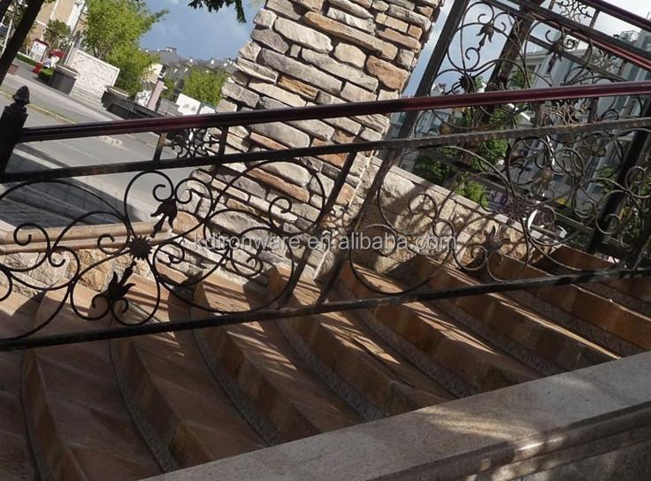 Fabricant Ornemental En Fer Forgé Jardin Rampes D\'escalier En Métal ...