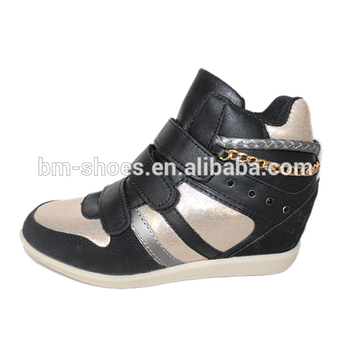 sale uk enjoy bottom price pretty cheap Chain Design Wholesale Hidden Wedge Sneakers For Women - Buy Brand New  Design High Heels Shoes,Hidden Wedge Sneakers,Wedge Sneakers For Women  Product ...