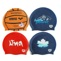 Big Waterproof Summer Sport Diving Promotional Silicone Swimming Cap