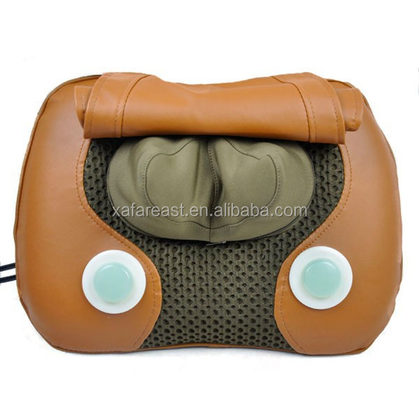Shiatsu Lumbar Massage Pillow with Jade Stone