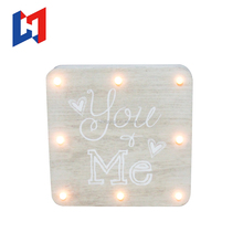 Wedding decoration led lights phonetic alphabet