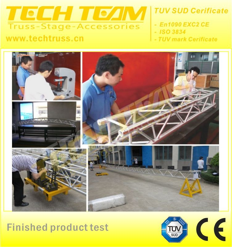 Light Gauge aluminum Roof Trusses , with tent roof truss