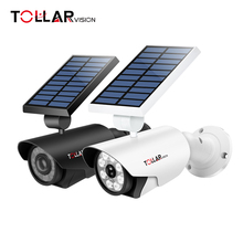 Factory direct supply Motion Detection solar led light dummy fake security camera for garden