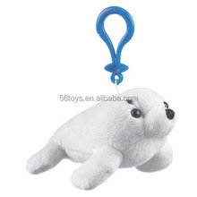 Harp Seal Plush Stuffed Animal Backpack Clip Toy Keychain