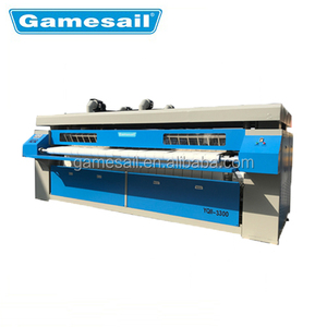 bed sheet steam ironing machines for sale/gas heated double rollers laundry flatwork ironer