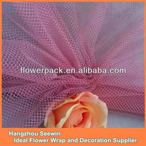 Gift Wrapping Mesh/ Floral Mesh Wrap/ Deco And Plastic Flower Wrapping Mesh
