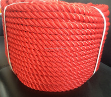 6mm 3 strands twisted polyethylene rope