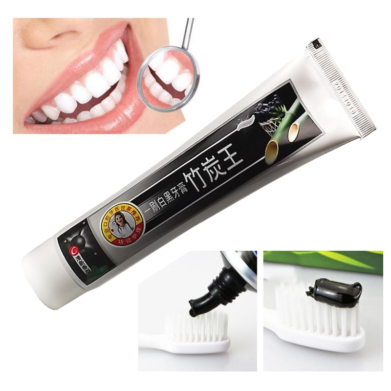 Natural Charcoal Bamboo Toothpaste Charcoal All-purpose Teeth Whitening Toothpaste Black Tooth Paste