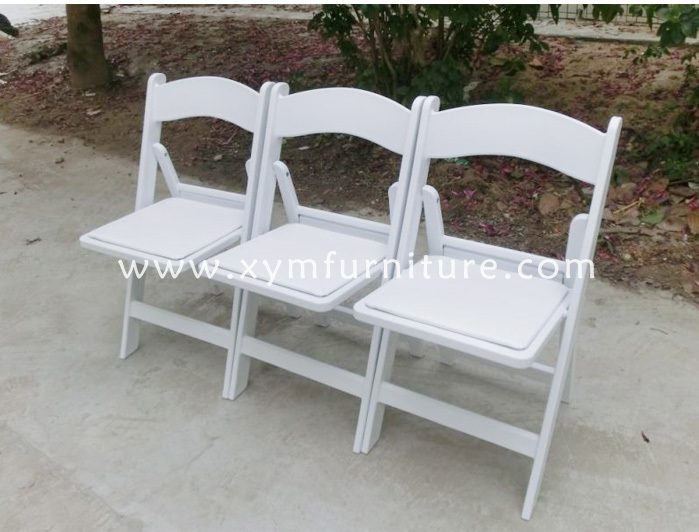 Outdoor Wedding Plastic Folding Chair For Rental