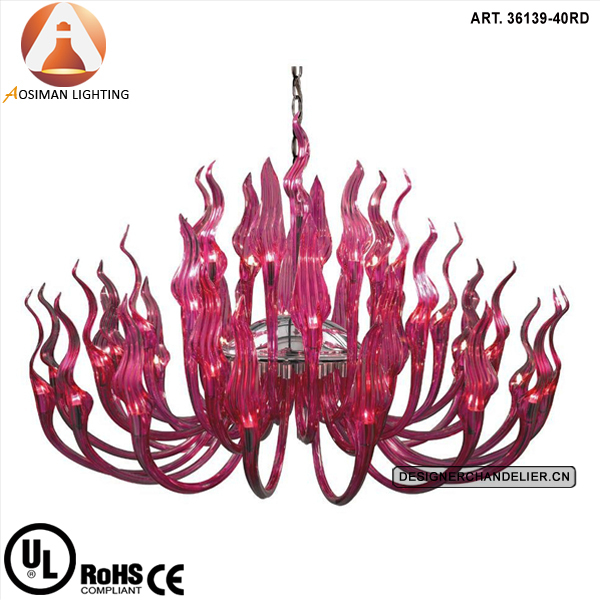 China murano glass chandelier red wholesale alibaba murano style glass chandelier red aloadofball Images