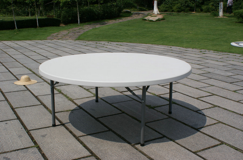 6ft cheap banquet dining folding party round plastic top for 6ft round dining table