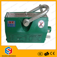 2016 High quality 0.1-10 tons Permanent magnetic lifter, Permanent lifting magnet without electric