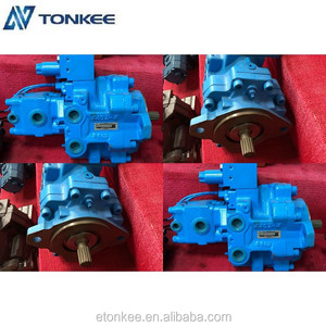 New hydraulic motor with solenoid PVD-3B genuine piston pump PVD-3B hydraulic main pump with solenoid
