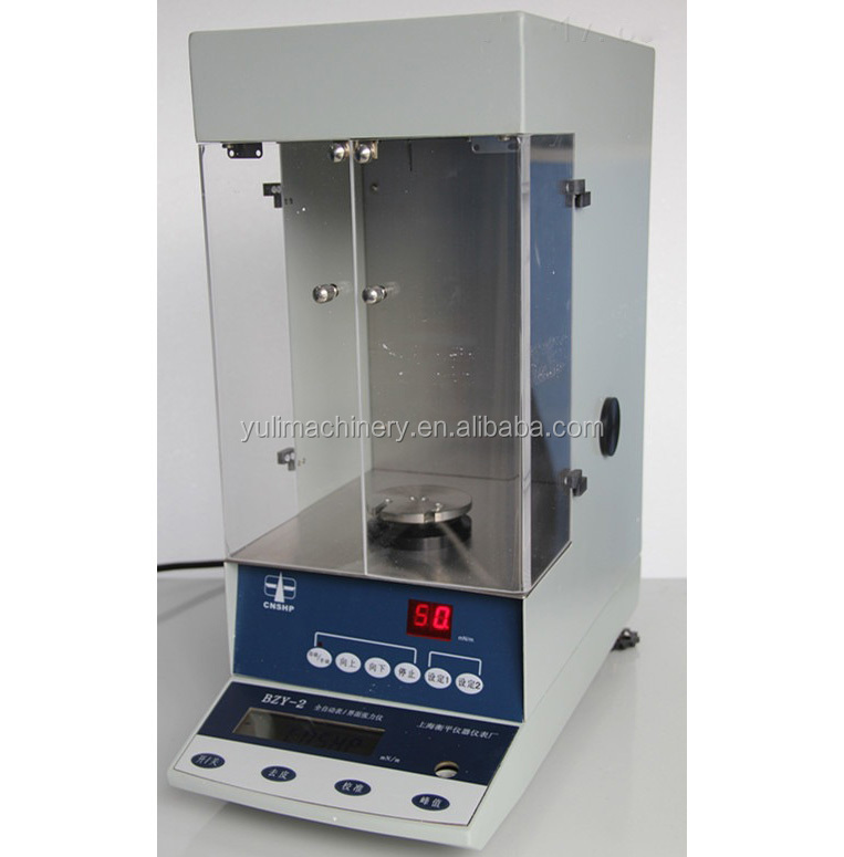 LCD display automatic surface tension meter with CE approved Digital display automatic Surface tension meter