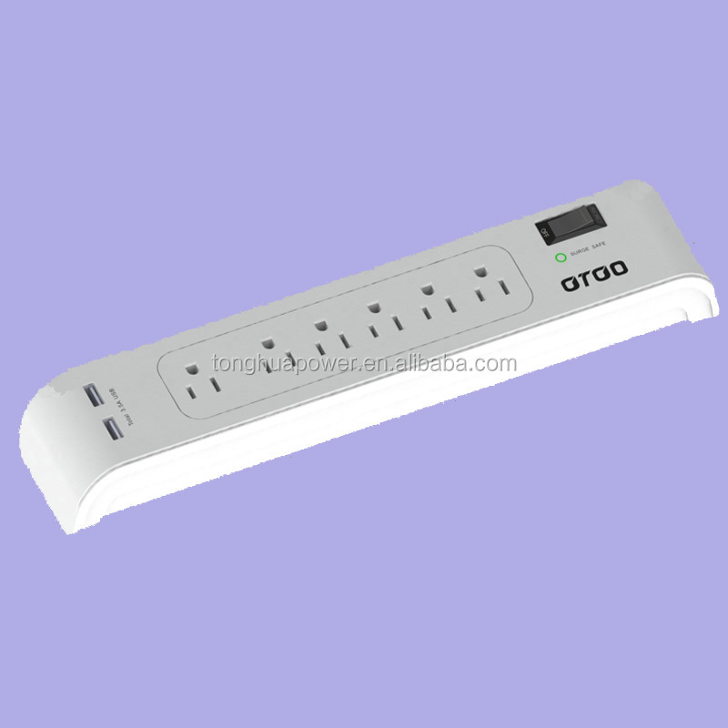 surge protector power strip/ surge protection power socket with usb