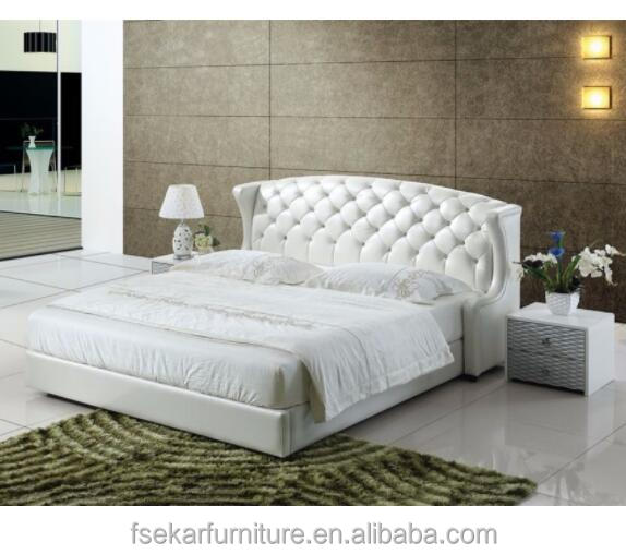wood and upholstery bed.  China upholstery wooden bed wholesale Alibaba