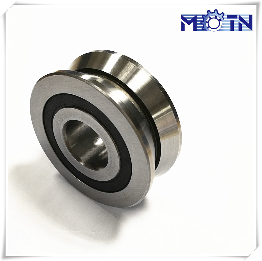 V grooved track roller bearing for compact rail guides LV20/8ZZ (8mmx30mmx14mm )
