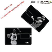 Company Advertising 8GB Branded Credit Card Sized Shaped USB Flash Drive Pen Drive