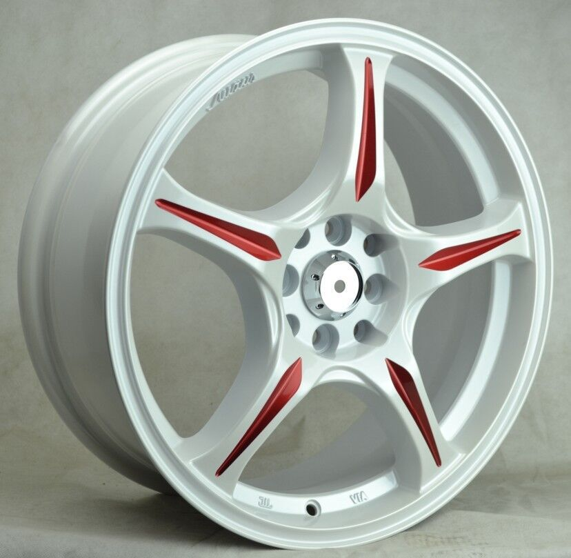 White Alloy Wheel China 4x100 Color Car Rims 15 Inch For Sale ...