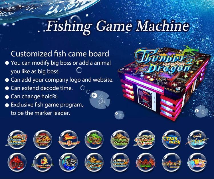 Coin operated gambling machine fish hunter game igs games for Fish game gambling
